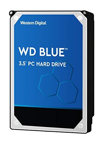 WD Blue 4TB PC Hard Drive - 5400 RPM Class, SATA 6 Gb/s, 64 MB Cache, 3.5' - WD40EZRZ