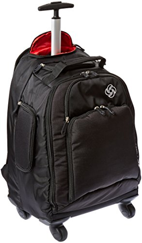 Samsonite MVS Rolling Backpack, Black, 19-Inch