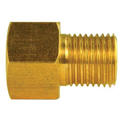4LIFETIMELINES Brass Adapter, Female(7/16-24 Inverted), Male(1/2-20 Inverted), 10/bag