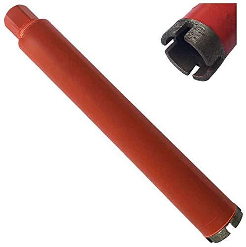 "Wet Drill Core Bits for Hard Concrete, Granite, Brick, and Block - 1.5' Diameter 5/8""–11 Threaded #30/40 Diamond Grits"