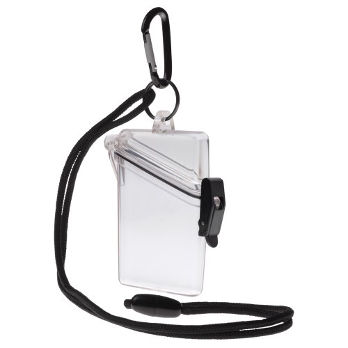 Witz See It Safe Small Clear Waterproof ID Badge Holder Sport Case 00411