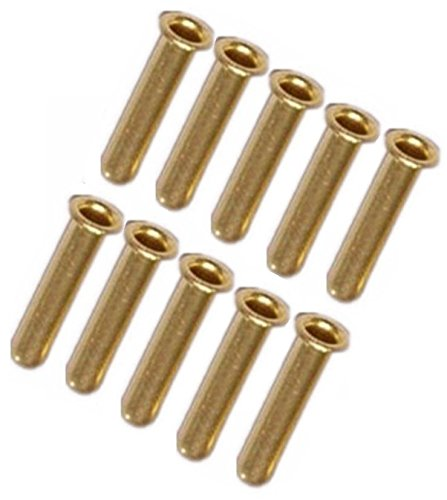 10 PCS/PKG Compression Insert Fitting for Nylon Tube Tubing OD 1/8' or 4mm (ID 2mm)