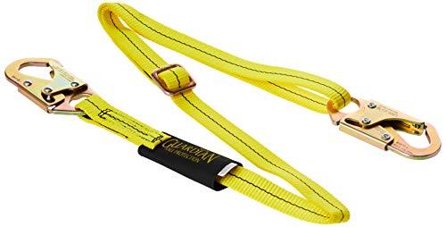Guardian Fall Protection 01280 AWL4-6 Adjustable Non-Shock Absorbing Lanyard from 4-Feet to 6-Feet