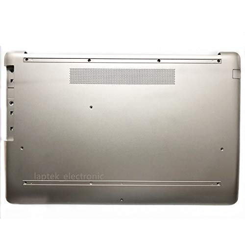 Replacement for HP 17-by 17T-by 17-CA 17Z-CA 17-BY0007CY 17-BY006 17.3' Laptop Lower Base Bottom Case Cover Assembly Part L22509-001 6070B1308208 L25493-001 Pale Gold