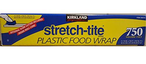 Kirkland Signature Stretch Tite Plastic Food Wrap 11 7/8 Inch X 750 SQ. FT.