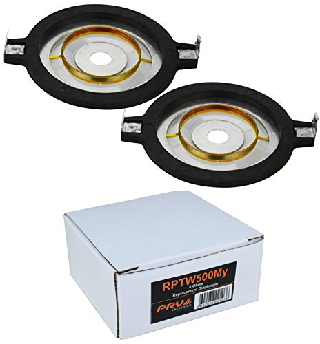 2X Replacement Diaphragm PRV Audio PRV-RPTW500MY for TW500MY Re Cone Kit