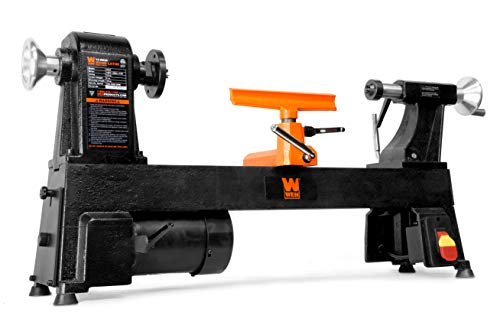 WEN 3424T 4.5-Amp 12-Inch by 18-Inch 5-Speed Benchtop Wood Lathe