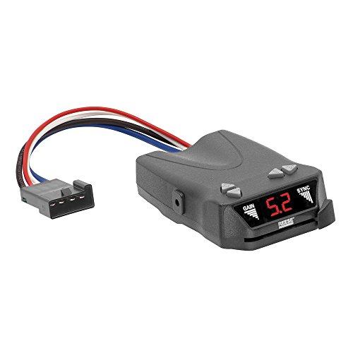 REESE Towpower 8507111 Brakeman IV Digital Brake Control, Small Compact Design