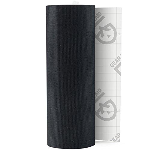GEAR AID Tenacious Tape Nylon Repair Tape for Fabric and Vinyl, 3 x 20, Black