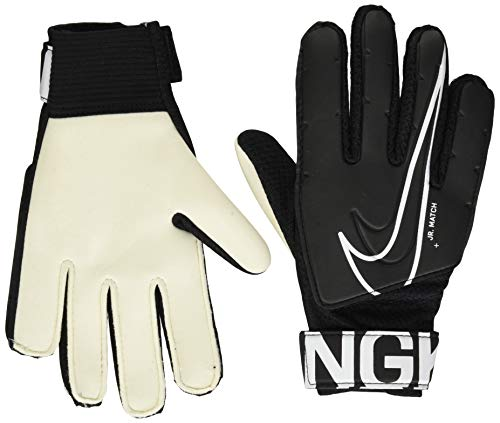 Nike Youth Match Goalkeeper Gloves (6, Black)