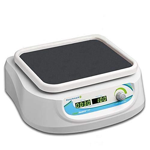Benchmark Scientific Orbi-Shaker JR BT302, Orbital Shaker with Flat Rubber Mat Platform, 100-240 Universal Voltage US Plug
