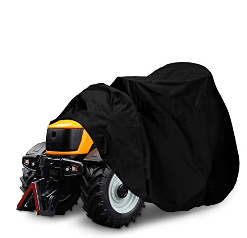 NASUM Riding Lawn Mower Cover, 600D-Upgrade Tractor Cover Fits Decks up to 54', Outdoors Lawn Mower Cover, Protection Universal Fit for Your Lawn Tractor Cover(72x54x46 inches)