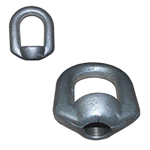 10 PCS Eye Nut Drop Forged Carbon Steel 1,250lbs Bail Size 5/16 Tap Thread 3/8'