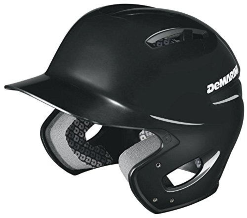 DeMarini Paradox Protege Pro Batting Helmet, Black, Youth