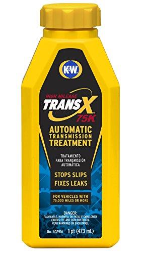 K&W 402916x6 Trans-X High Mileage Automatic Transmission Treatment - 16 Fl Oz