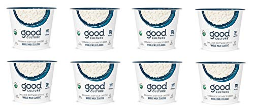 Good Culture, Organic Cottage Cheese, Whole Milk Classic 5.3 oz (8 Pack)