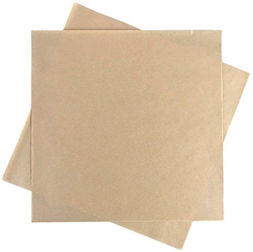 Deli Squares - Paper Sheets (12' x 12') (Natural Brown - 250 Sheets)