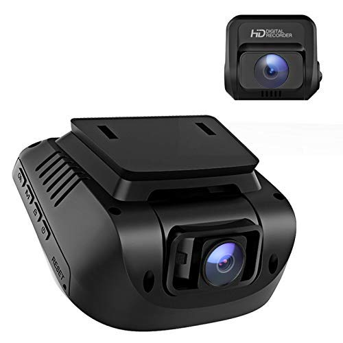 Dash Cam Front and Rear - Dual 1080P Dash Camera for Cars Optional GPS, 170° Wide Angle, 3' LCD, HDR, Support 128GB, Driving Recorder with Supercapacitor, Motion Sensor, G-Sensor, Loop Recording