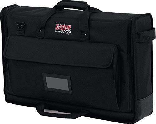 Gator Cases Padded Nylon Carry Tote Bag for Transporting LCD Screens, Monitors and TVs Between 19' - 24'; (G-LCD-TOTE-SM)