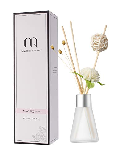 Eyun aroma Reed Diffuser Set Lavender Reed Oil Diffusers for Bedroom Living Room Office Aromatherapy Oil for Gift Idea & Stress Relief (Taste: Lavender)