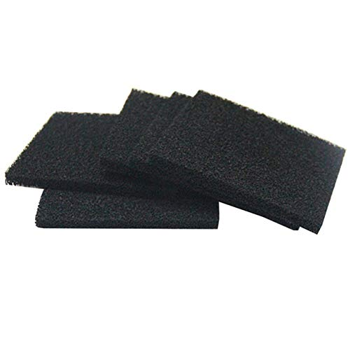 """Solder Extractor Filter Activated Carbon Filter Replacement - FEITA Smoke Fume Absorber Filter for Hakko/Xytronic/Aoyue Smoke Absorber 5 1/8' x 5 1/8' x 3/8"""" - 5Pcs/Pack"""