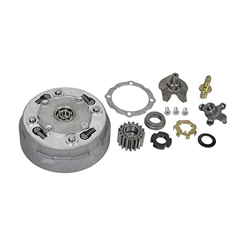 AlveyTech 17-Tooth Clutch Assembly for Semi-Automatic 50cc - 110cc ATVs