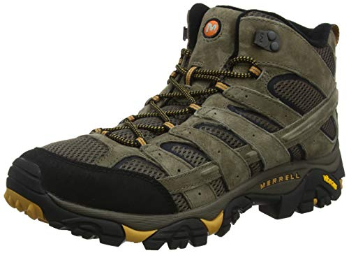 Merrell Men's Moab 2 Vent Mid Hiking Boot, Walnut, 10.5 M US
