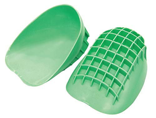 Mueller Sports Medicine Pro Heel Cups, Green, Regular (Sold in Pair)