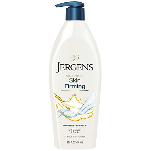 Jergens Skin Firming Toning Body Moisturizer, 16.8 Ounces (Packaging May Vary)