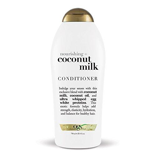 OGX Nourishing + Coconut Milk Conditioner, 25.4 Ounce Salon Size