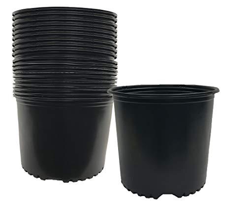 Viagrow 3 gallon - Nursery Pot, 20 pack ( 11.36 liters) Trade Gallon