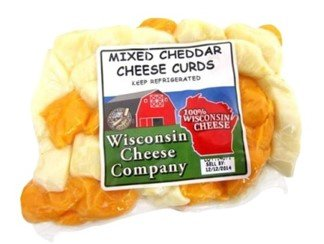 Wisconsin Cheese Company Famous Mixed Cheese Curds (2ct-10oz. packs)
