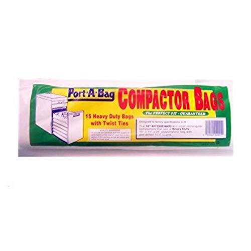 Port-A-Bag 18' TRASH COMPACTOR BAGS 15-pk - K12 (Original Version)