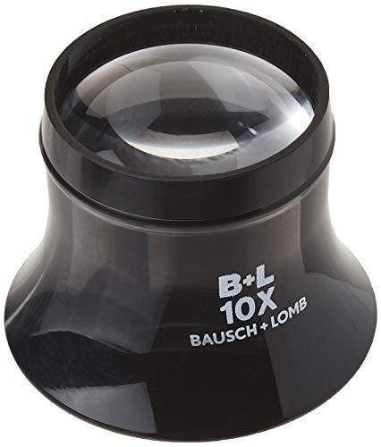 Bausch & Lomb Watchmaker Loupe, 10x, Black