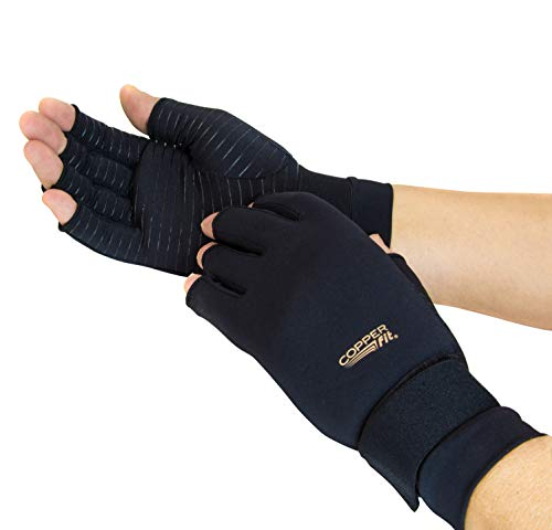 Copper Fit Standard Hand Relief, black, Large/X-Large