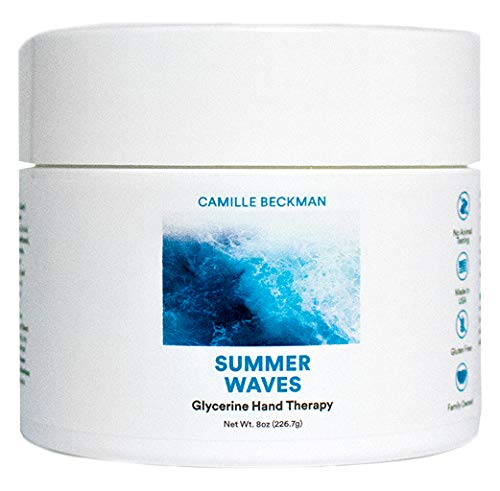 Camille Beckman Glycerine Hand Therapy Cream, Summer Waves, 8 Ounce