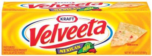 Velveeta Mexican, Mild, 32-Ounce Loaves (Pack of 2)