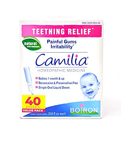 Boiron Camilia Teething Relief, 40 count