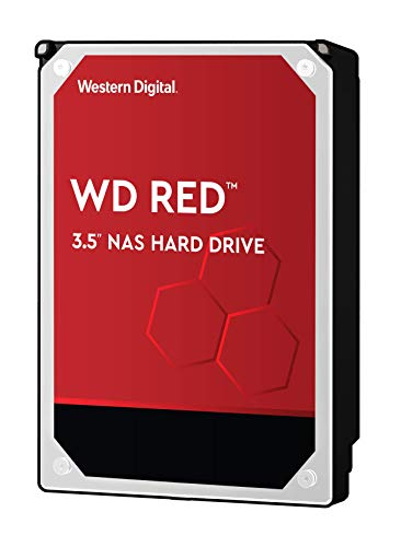WD Red 4TB NAS Internal Hard Drive - 5400 RPM Class, SATA 6 Gb/s, SMR, 256MB Cache, 3.5' - WD40EFAX