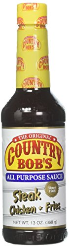 Country Bob's All Purpose Sauce, 13 Ounce (Pack of 3)