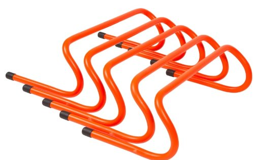 Trademark Innovations Speed Training Hurdles (Pack of 5), 6'