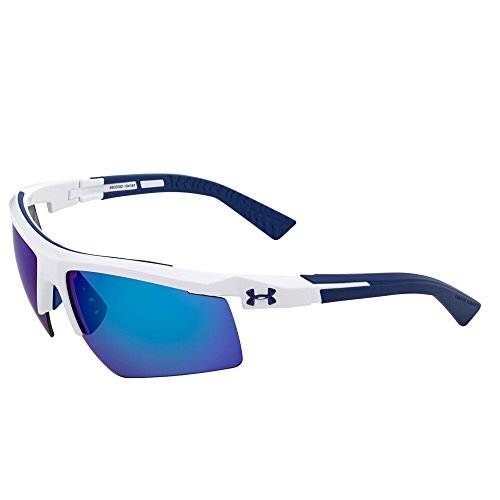 Under Armour Men's Core 2.0 Sunglasses White / Gray Lens 69 mm