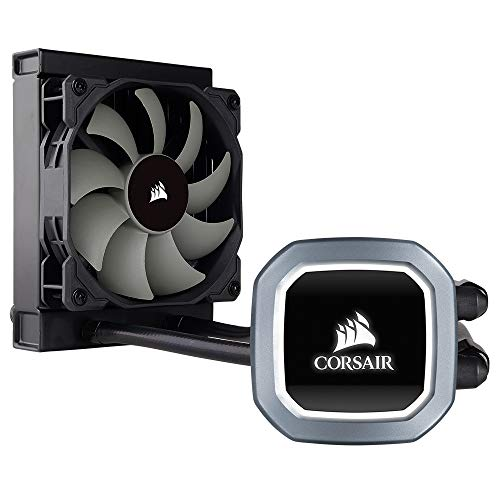 Corsair Hydro Series H60 AIO Liquid CPU Cooler, 120mm Radiator, 120mm SP Series PWM Fan