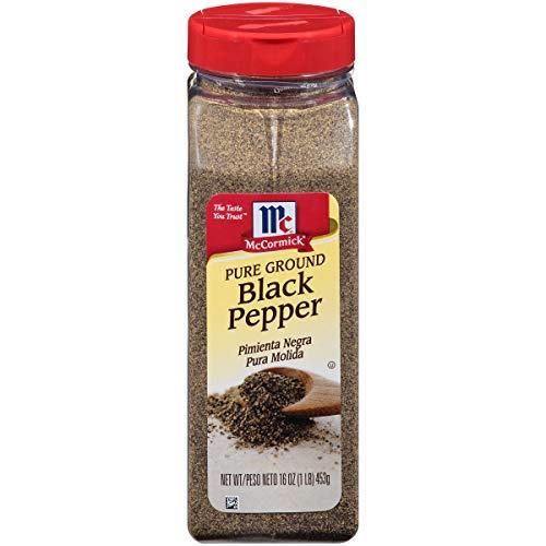 McCormick Pure Ground Black Pepper, 16 oz (052100030302)