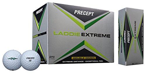 Precept 2017 Laddie Extreme Golf Balls (24 Balls), White