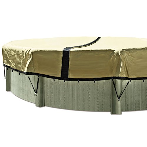 In The Swim 30 Foot Round Ultimate Above Ground Winter Pool Cover - 12 Year Warranty