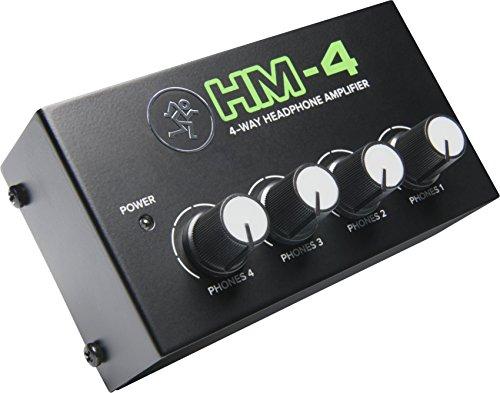 Mackie Mixer Accessory, 1-ch x 4 headphones (HM-4)