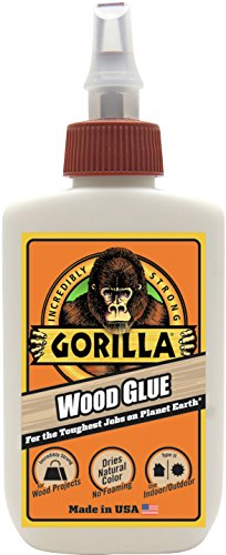Gorilla Wood Glue, 4 ounce Bottle, (Pack of 1)