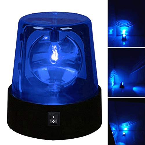 Stage Flashing Strobe Light, 3inch 360 Degree Rotating DJ Flashing Stage Effect Battery Powered Strobe Light Low Power Consumption High Brightness Base with Switch Control
