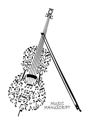 Music Manuscript: Blank Sheet Music Composition and Notation Notebook /Staff Paper/Music Composing / Songwriting/Piano/Guitar/Violin/Keyboard (Large 120 Pages 8.5x11)